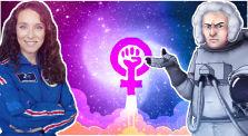 Eine Quoten-Astronautin erklärt warum Frauen bessere Astronauten abgeben by Shlomo Finkelstein / DVA